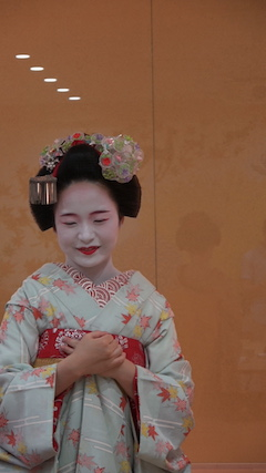 A place you can meet and talk with real MAIKO.